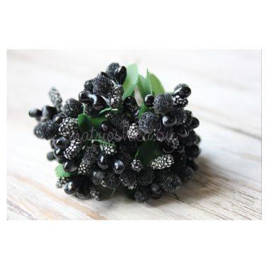 Букет из тычинок «Чёрный»
