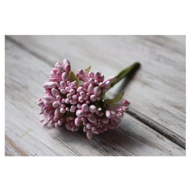 Букет из тычинок перламутр «Розовый»