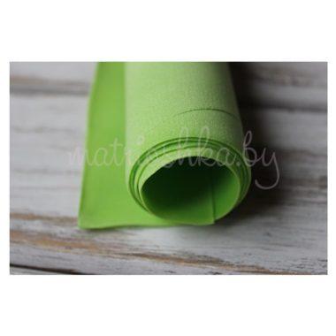 Фоамиран зефирный «Зелёный»