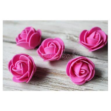 Головки роз из фоамирана «Малиновый»