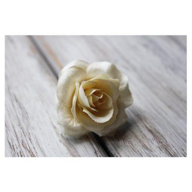 Роза атласная «Cливочно-ванильный»