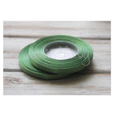 Лента атласная «Травяной зелёный», 0,6 см*32 м