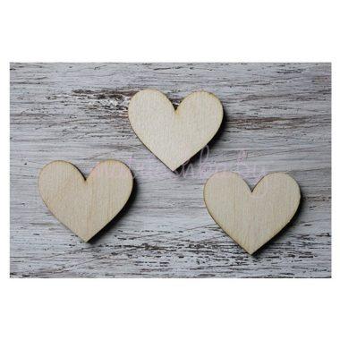 Заготовка деревянная Сердце, 5 см