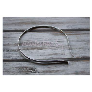 Ободок металлический 5 мм (серебристый)