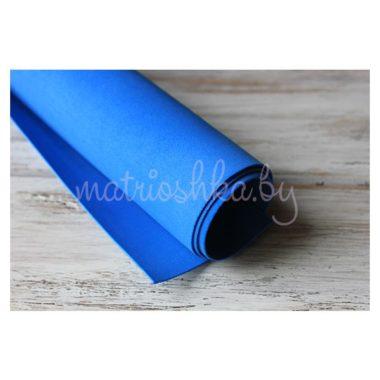 Фоамиран зефирный «Синий», 50 х 50 см
