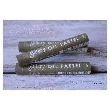 Профессиональная мягкая масляная пастель #234 «Оливково-коричневый»