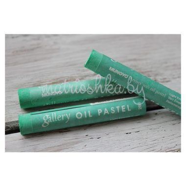 Профессиональная мягкая масляная пастель #268 «Светлый изумрудно-зелёный»