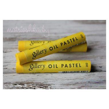 Профессиональная мягкая масляная пастель #202 «Жёлтый»