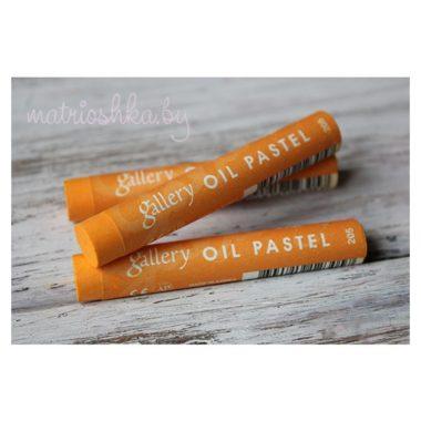 Профессиональная мягкая масляная пастель #205 «Оранжевый»