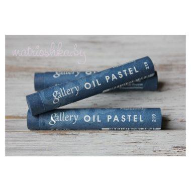 Профессиональная мягкая масляная пастель #219 «Прусский синий»