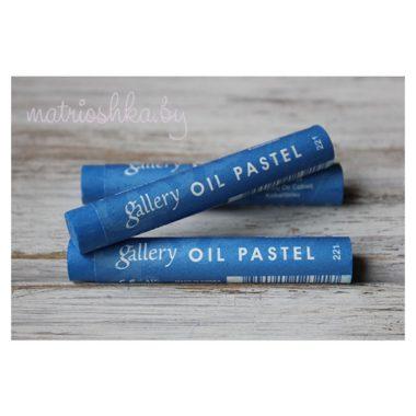 Профессиональная мягкая масляная пастель #221 «Кобальт синий»