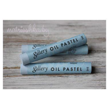 Профессиональная мягкая масляная пастель #245 «Светло-серый»