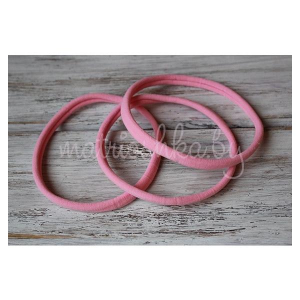 """Бесшовная нейлоновая основа для повязки """"Розовый"""""""