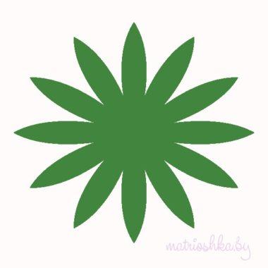 Экстра-тонкий китайский фоамиран «Зелёный», 0,5 мм