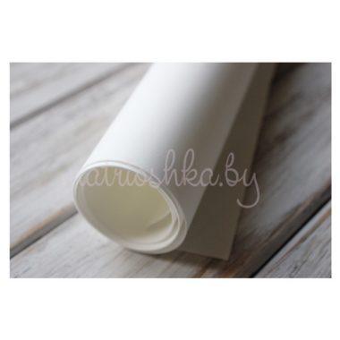 Фоамиран «Белый», 60 х 35 см