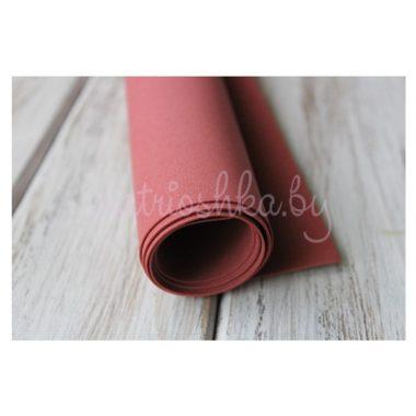 Фоамиран «Бордовый», 60 х 35 см