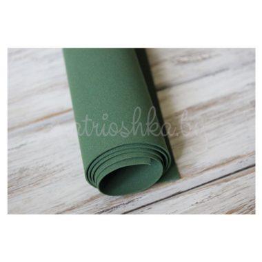 Фоамиран «Глубокий зелёный», 60 х 35 см
