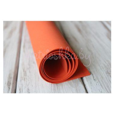 Фоамиран «Красно-оранжевый», 60 х 35 см
