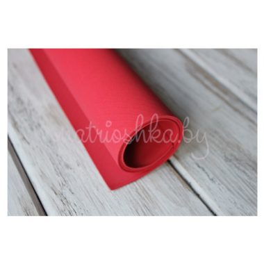 Фоамиран «Красный», 35 х 30 см