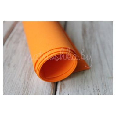 Фоамиран «Оранжевый», 60 х 35 см