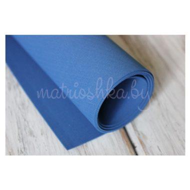 Фоамиран «Синий», 35 х 30 см