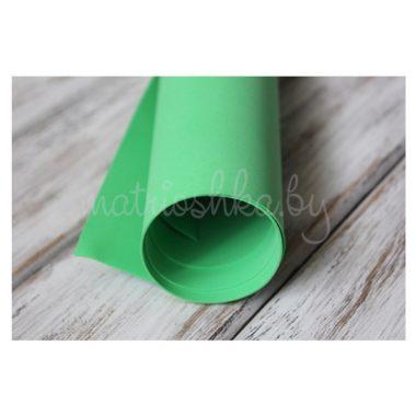 Фоамиран «Зелёное яблоко», 35 х 30 см