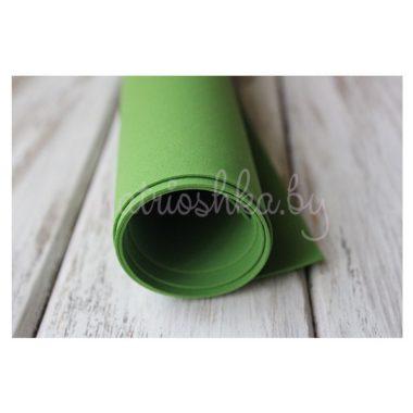 Фоамиран «Зелёный», 35 х 30 см