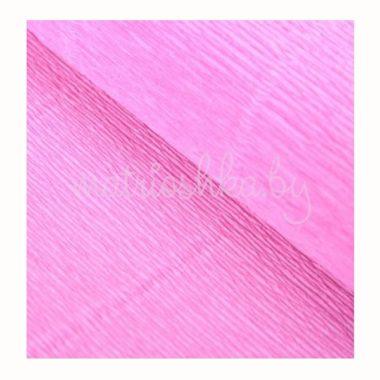 """Бумага гофрированная """"Розовый"""", 554 (Италия)"""