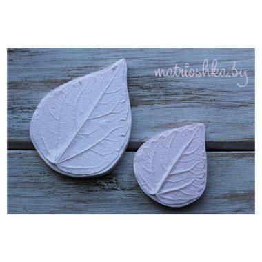 Набор молдов Листья Гибискуса натуральные (большой и малый)