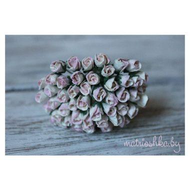 """Мини-бутон розы """"Винтажный розовый"""""""
