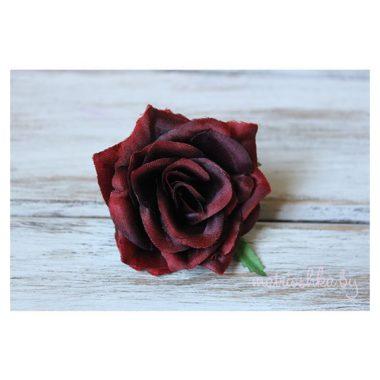 """Головка розы """"Красно-бордовый"""""""