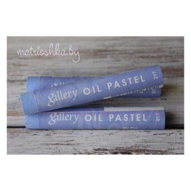 Профессиональная мягкая масляная пастель #217 «Голубой»