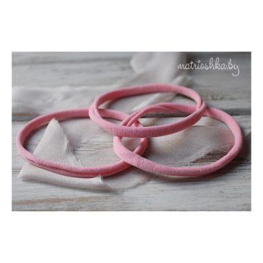 Нейлоновая повязка «One Size» «Розовый»