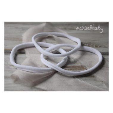 Нейлоновая повязка «One Size» «Белый»