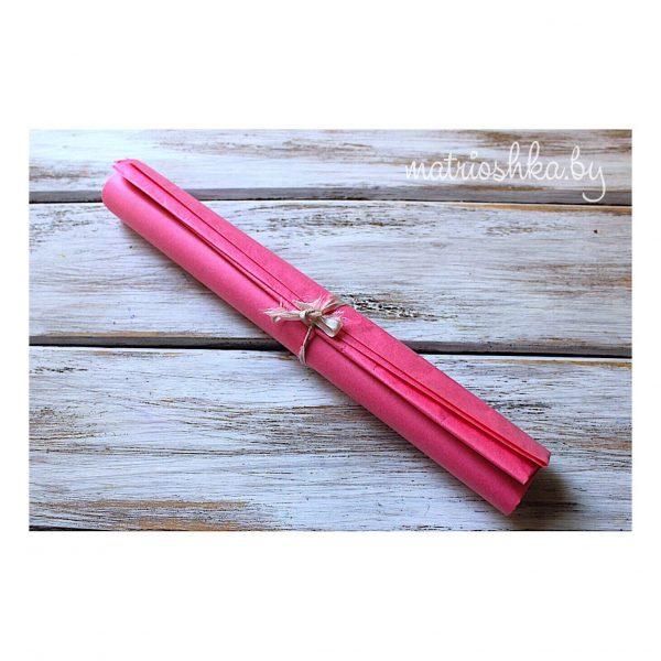 """Бумага Тишью """"Ярко-розовый"""", 50*66 см"""