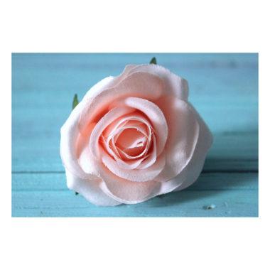 """Головка Розы """"Розово-персиковый"""", 6-7 см"""