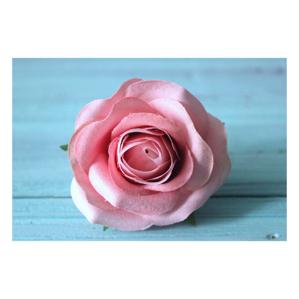 """Головка Розы """"Винтажный розовый"""", 6-7 см"""