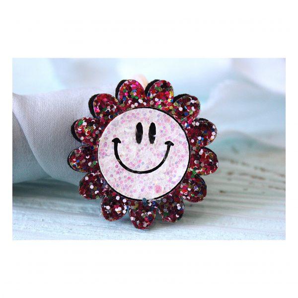 Патч «Цветок с улыбкой», разноцветный