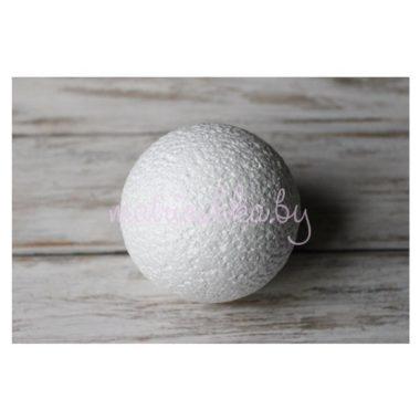 Пенопластовый шар , d 12 см, белый