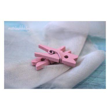 Декоративная прищепка «Розовый», 2,5 см