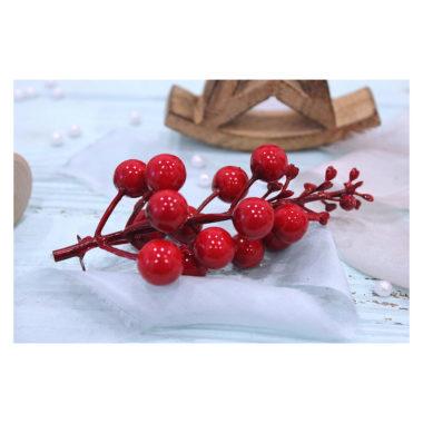 """Гроздь ягод """"Красный"""", 12 см"""