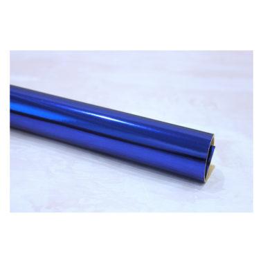 Кожзам «Зеркальный», синий, 22*30 см