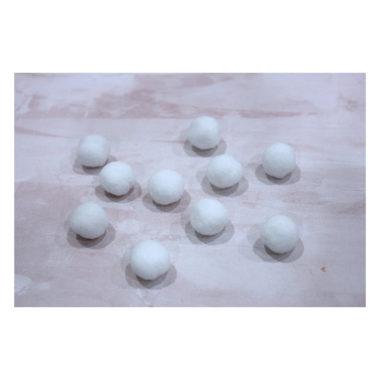 Помпоны Premium «Белый» 1 см, 10 шт
